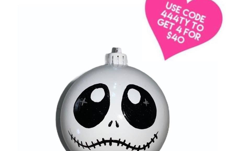 Nightmare Before Christmas Bauble - Jack - Puppy Eyes