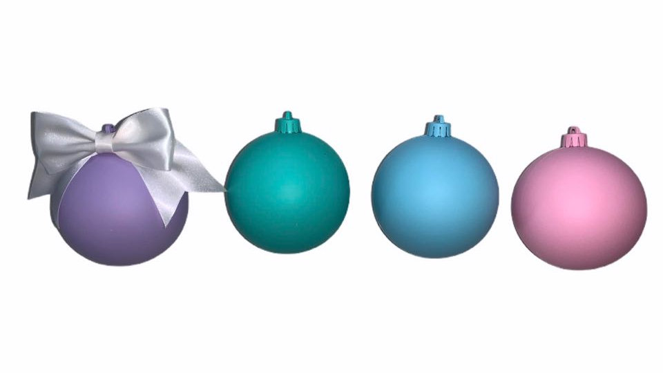 PersonalisedCustomisable Christmas Baubles