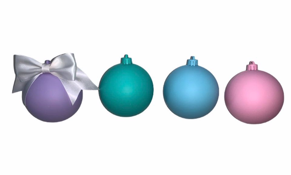 Personalized Customizable Christmas Baubles