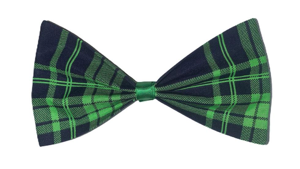 Green Tartan Hair bow