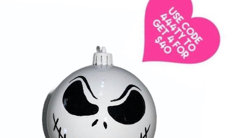 Nightmare Before Christmas Bauble- Jack - Smirk