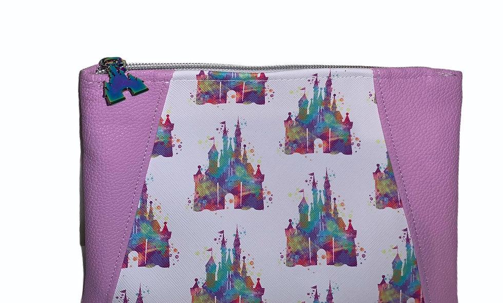 Disney Make Up Bag with Custom Zipper Pull