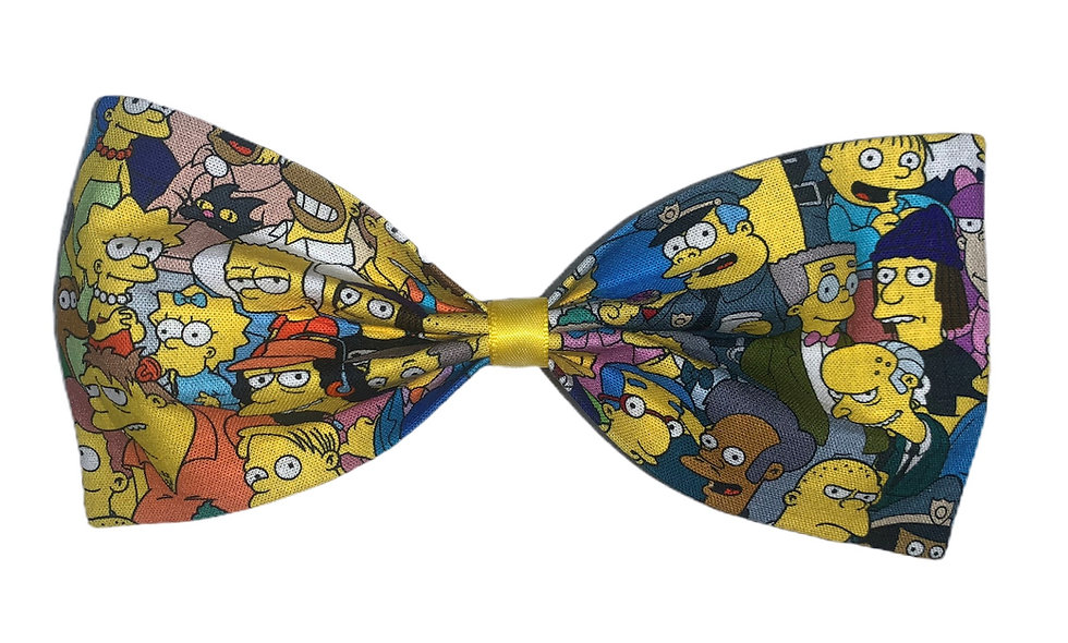 Simpsons inspired bow