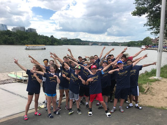 Middle School Rowing Camps Underway