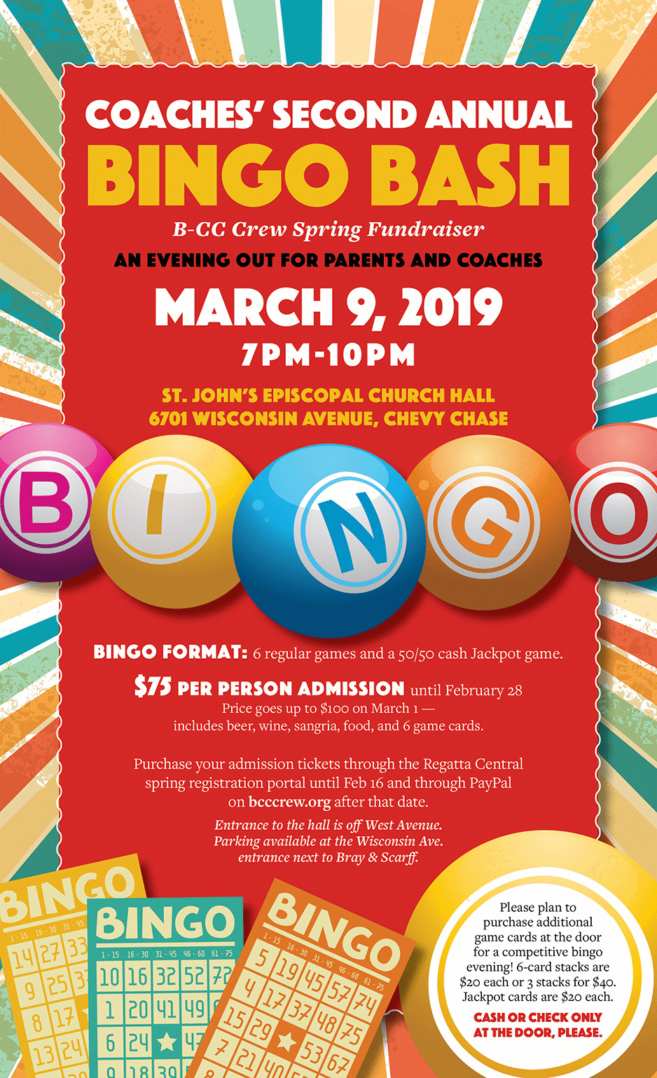 Bingo Bash Flyer