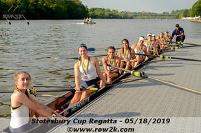 B-CC Rowing Sees Stotesbury Success
