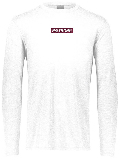 R/STRONG Long-Sleeved T-Shirt (White)