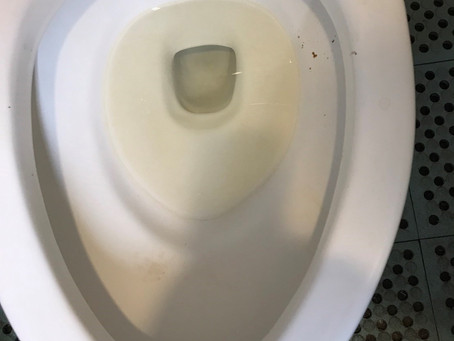 トイレ 黄ばみ取り