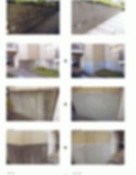 コンクリート水アカ洗浄