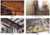 屋根裏カビ、クロス壁下地カビ