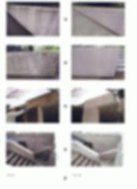 コンクリート壁コケ、カビクリーニング