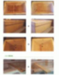 浴室・サウナ・木部/カビ除去/汚れ除去/染み除去