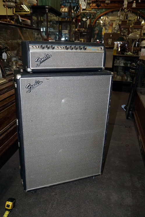 Combo Fender Bandmaster Head And Cabinet - Amp Model A B 763