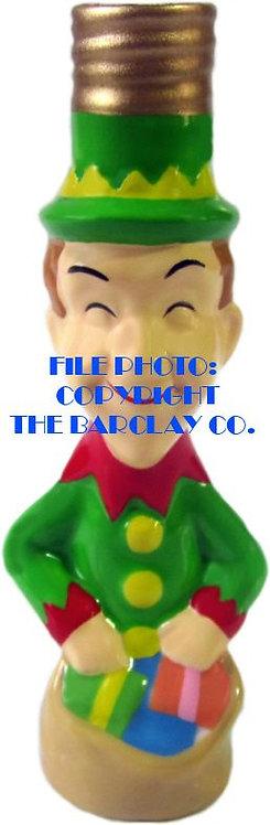 "#BC-068 - Laurel & Hardy ""Milk Glass"" Bulb Cover - Stan Laurel Elf"