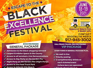 Black Excellence Festival Travel Package