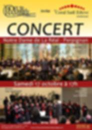 Concert Notre Dame de La Réal - 17 octobre 2017