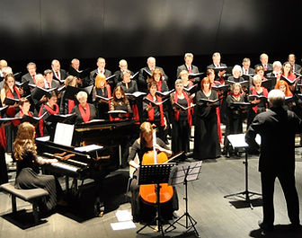 Concert de Céret, mars 2015 - Choeur de chambre de Perpignan