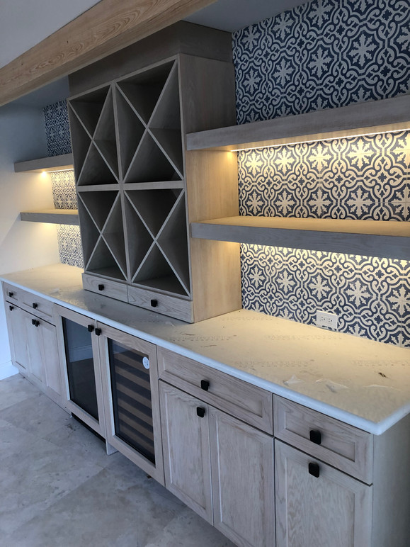 CUSTOM HOME BAR...