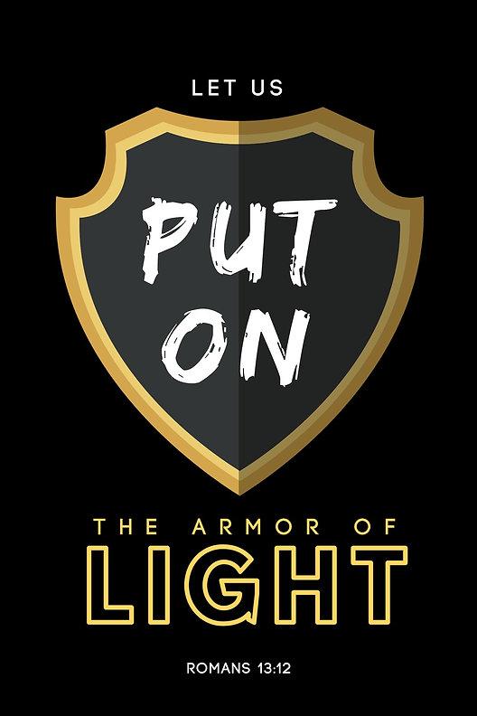 Armor of Light - Shirt Design - Shield_e
