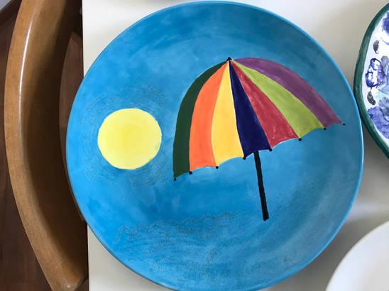 Keramik bemalen im Pintoyo