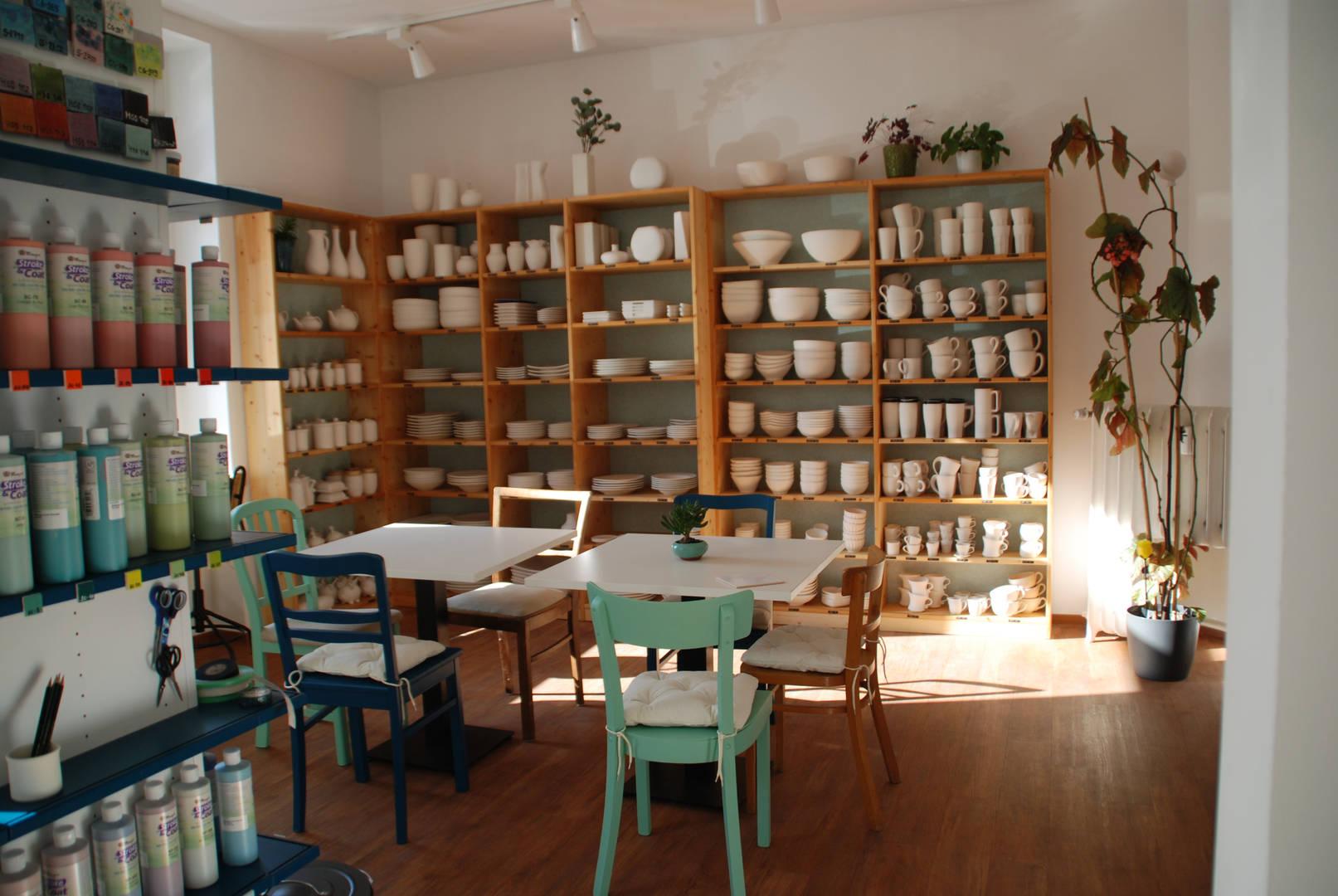 Keramikauswahl im Pintoyo