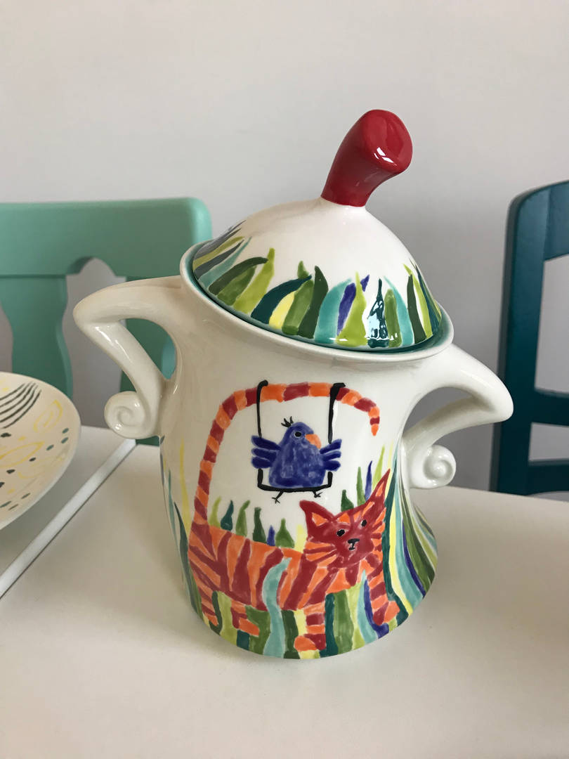 Keramik bemalen kann jeder im Pintoyo