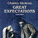 Audiobook cover of Great Expectations narrated by Aaron Abano