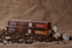 cápsula nespresso canastra