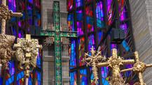 Saint Luke Lutheran Church Chicago Palm Crosses