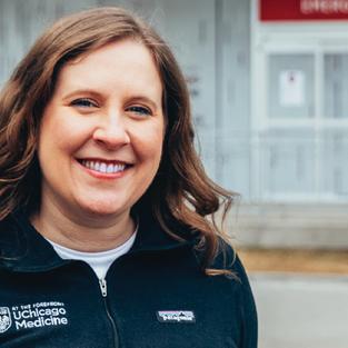 I'm a Lutheran: Dr. Emily Landon University of Chicago Medicine