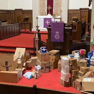 """""""This is what praising God looks like"""" A congregational Lenten collection challenge to fight """"period poverty"""""""
