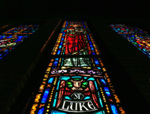 Saint Luke Lutheran Church Chicago Stained Glass