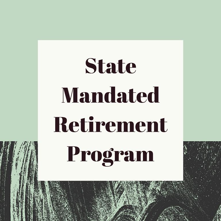 State Mandated Retirement Program Seminar (CalSavers)