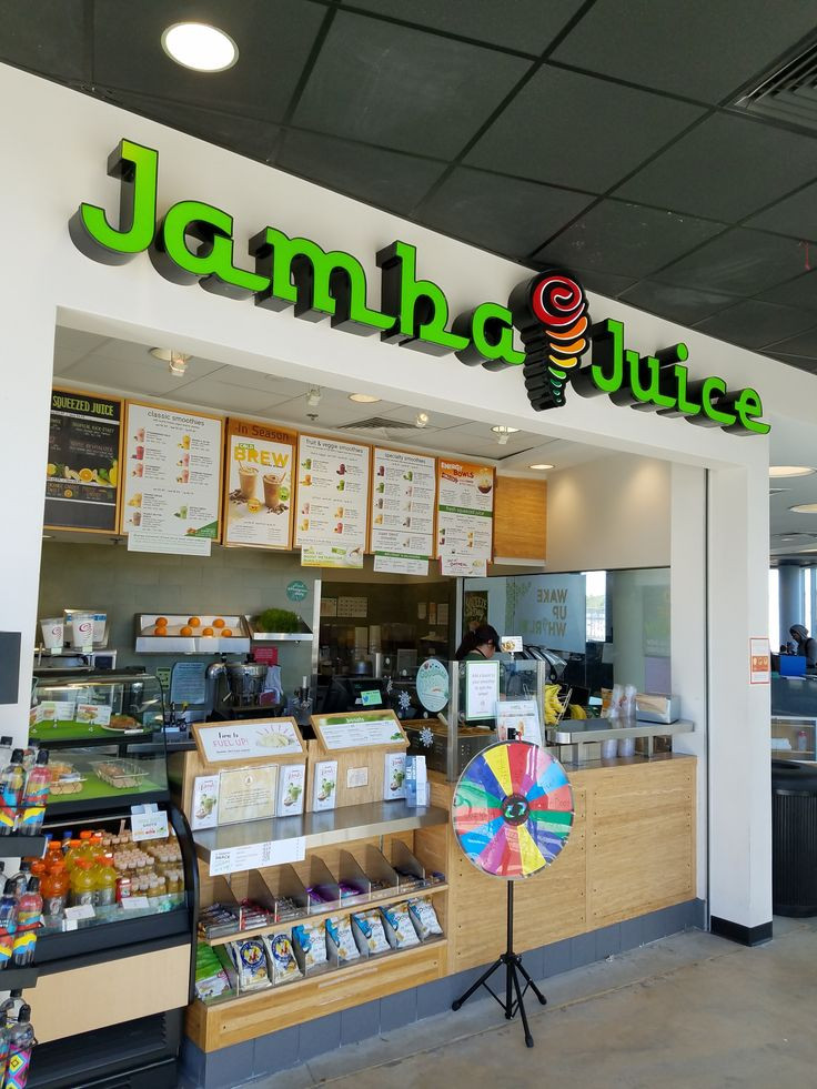 View of Jamba Juice front store.