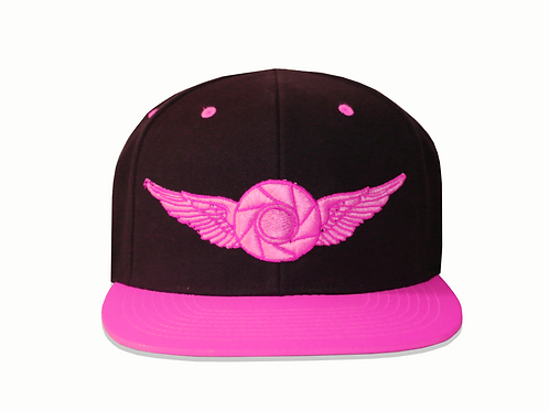 Pink LV Fitted Hat