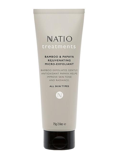 Natio Treatments Bamboo and Papaya Reuvenating Micro Exfoliant