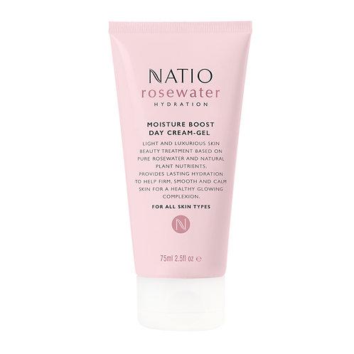 Natio Rosewater Hydration Moisture BoostDay Cream-Gel
