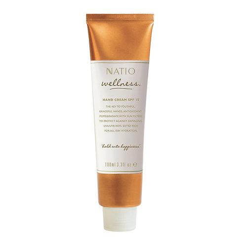 Natio Welness Hand Cream SPF 15