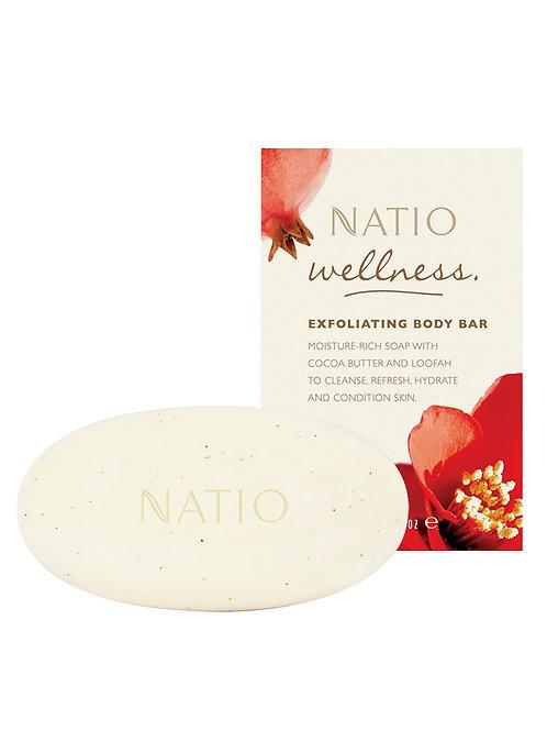 Natio Wellness Exfoliating Body Bar
