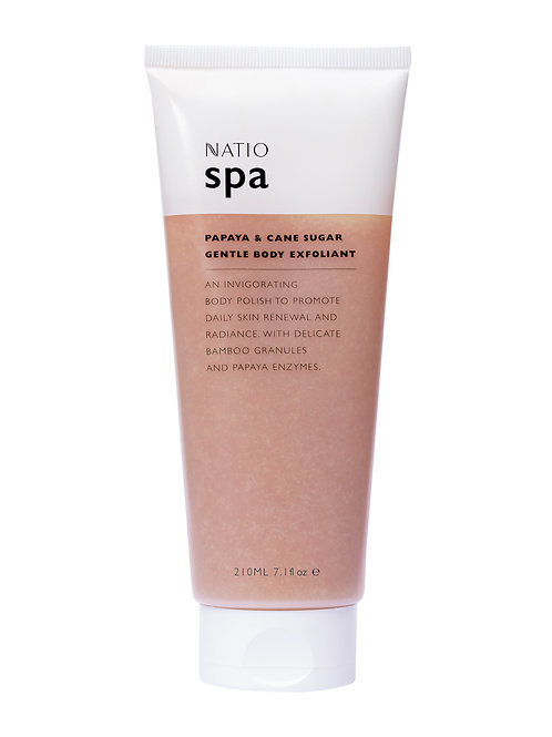 Natio Spa Papaya and Cane Sugar Gentle Body Exfoliant