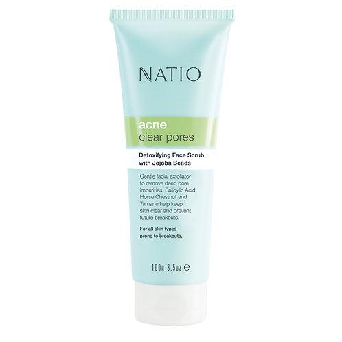 Natio Acne Clarifying Facial Scrub