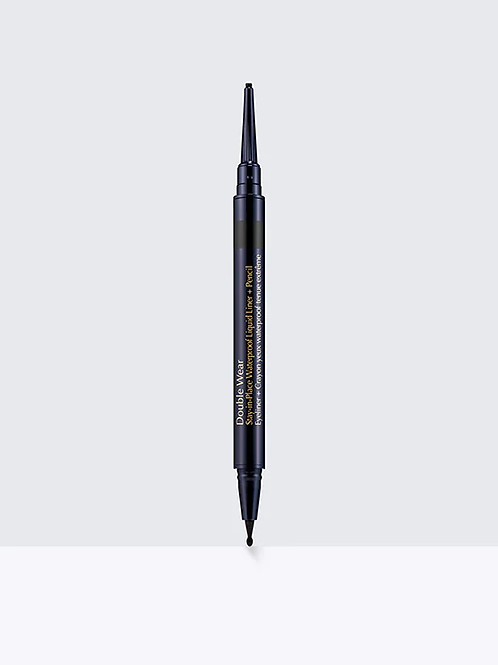Estee Lauder Double Wear Stay-in-Place Waterproof Liquid Liner+Pencil Onyx