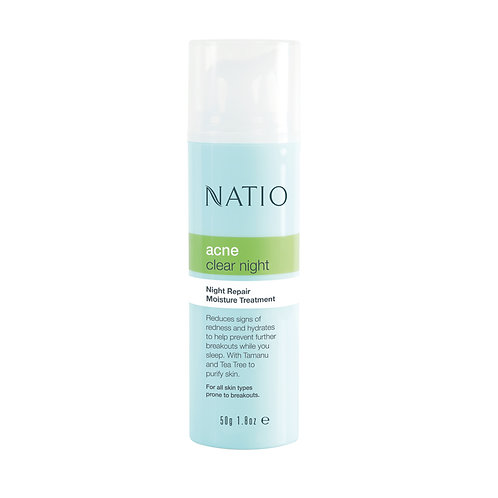 Natio Acne Night Repair Moisture Treatment