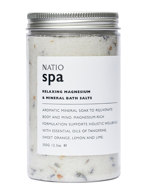 Natio Spa Relaxing Magnesium and Mineral Bath Salts