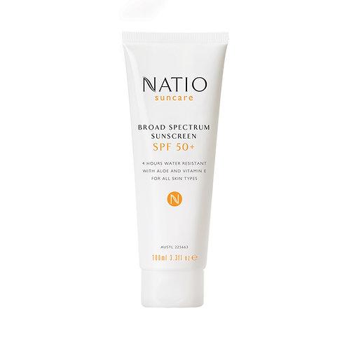 Natio Broad Spectrum Sunscreen SPF 50+