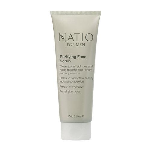 Natio for Men Purifying Face Scrub