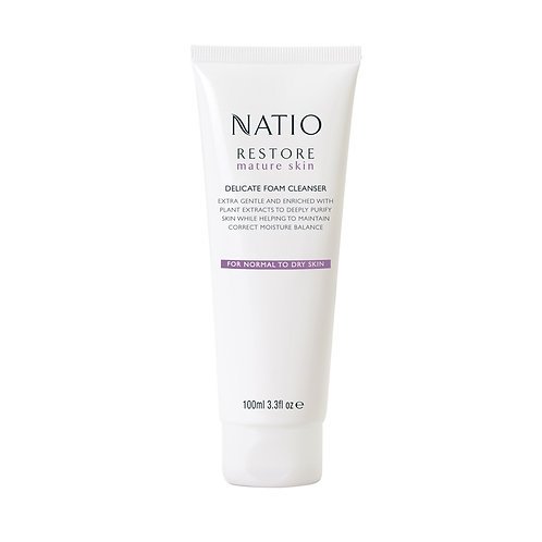Natio Restore Delicate Foam Cleanser