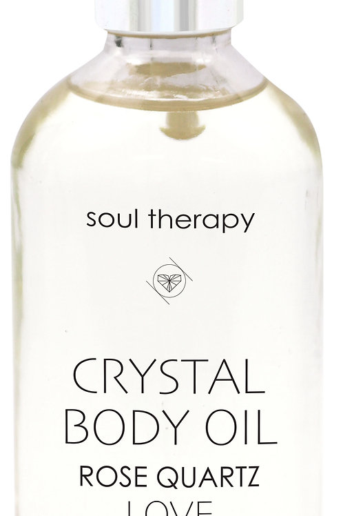 Soul Therapy Crystal Body Oil