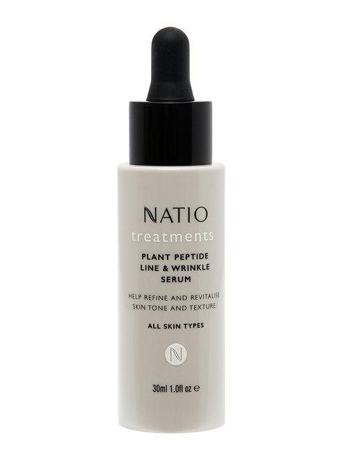 Natio Treatments Plant Peptide Line & Wrinkle Serum