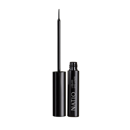 Natio Liquid Eyeliner - Black